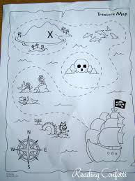 free coloring pages pirates treasure maps craft and activities