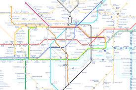 Tube Map London Tube Map At Of London Subway Evenakliyat Biz