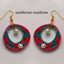 quilling earrings set 159 best paper quilling jhumkas jewelry images on