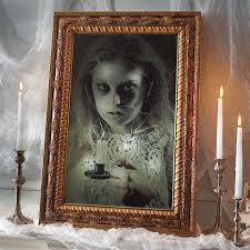 Motion Sensor Halloween Decorations by Animated Haunted Mirror Grandin Road Blog