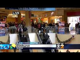 vs pink black friday hours shoppers pack queens center mall on black friday youtube
