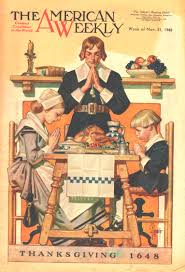 happy thanksgiving blessing u s the american weekly magazine cover november 21 1948