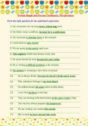 english worksheets wh questions worksheets page 53