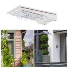 solar powered sensor security light solar powered bright 14 led wireless pir motion sensor security shed