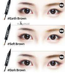 clio tattoo eyebrow pen clio korean makeup workshop exclusively by sasa by bowie cheong