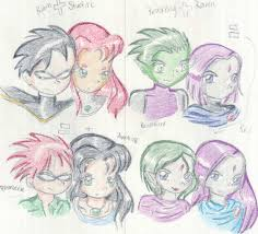 teen titans family renee15 deviantart