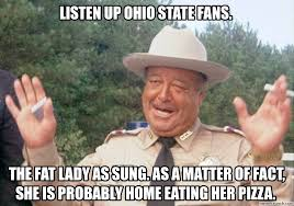 Ohio Meme - up ohio state fans