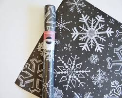 chalkboard wrapping paper snowflakes chalkboard gift wrap val gift wrap
