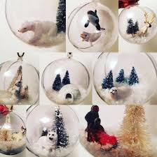Personalised Snow Globes Tree Decorations Snow Globe Ornaments Arctic Theme 10 Steps With Pictures