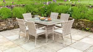 Metal Garden Table And Chairs Uk Wooden Metal Weave Rattan Garden Furniture Collections