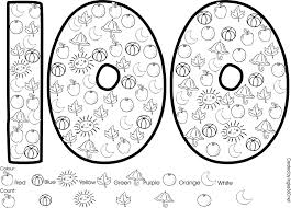 coloring download 100 day of coloring pages 100 day of