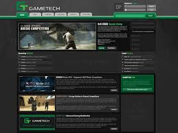 10 best images of gaming website layouts website design game