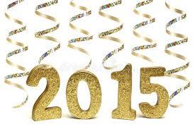 new years streamers new years 2015 stock image image of happy metallic 47169571