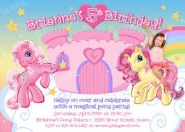 my little pony birthday invitations ideas u2013 bagvania free
