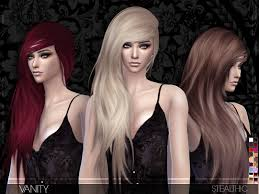 sims 4 hair cc stealthic vanity female hair