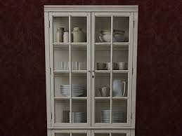 second life marketplace re antique white china cabinet decor