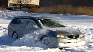 honda accord jdm jdm rhd 2005 honda accord wagon 4wd in the snow pt 2 youtube