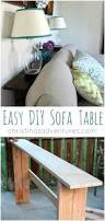 Ideas For Sofa Tables 20 Great Ways To Make Use Of The Space Behind Couch For Extra