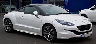 peugeot new sports car peugeot rcz wikiwand