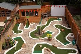 Backyard Golf Course by Build A Miniature Golf Course Boys U0027 Life Magazine Back Yard