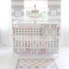 Pink Gray Crib Bedding Pink And Gray Polka Dot Crib Sheet Baby Crib Fitted Sheet