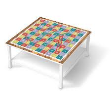 Wohnzimmertisch Folie Hemnes Couchtisch 90x90 Cm Möbelfolie Spieltisch Leiternspiel
