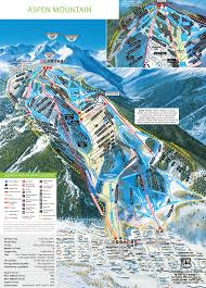 Big Sky Montana Map by Aspen Mountain Trail Map Aspen Snowmass