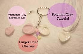 keepsake charms valentines day keepsake charm gift clay tutorial