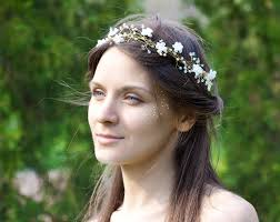 white flower headband 31 flower wedding headband bridal headband floral headband