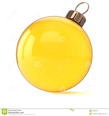 new years ornament yellow gold stock