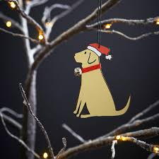 sweet william yellow labrador christmas decoration only 6 99