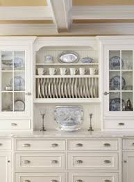 Beautiful Dining Room With Builtin Sideboard Accented With - Dining room cabinets