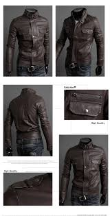 white motorcycle jacket men u0027s fashion stand collar pu leather motorcycle jackets us