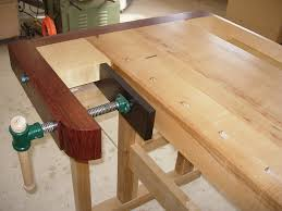 wood bench vise diy bench decoration