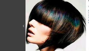 the latest hair colour techniques oil slick or duck feather dyeing is the new trend for pretty