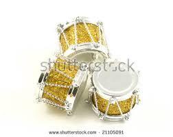 shiny gold silver tree stock photo 21105091