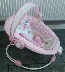 Pink Swinging Baby Chair Bright Starts Comfort U0026 Harmony Pink Baby Musical Vibrating