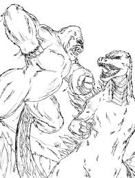 godzilla coloring pages free large images crafting pinterest