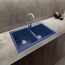 Blue Kitchen Sink Granite Sinks Ruvati Usa
