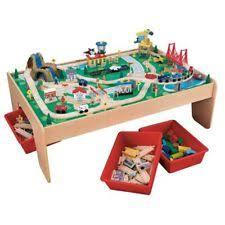 Kidkraft 2 In 1 Activity Table With Board 17576 Train Table Wooden Toys Ebay