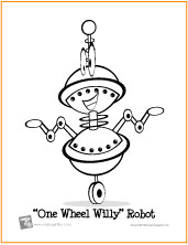 robot coloring pages free printable coloring pages