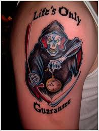 awesome tattoo trends 35 horrifying grim reaper tattoo designs