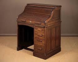 Small Oak Roll Top Desk Small Oak Roll Top Desk By Lebus C 1910 Antiques Atlas