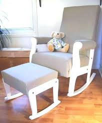 White Rocking Chair Nursery Sle Rocking Chairs For Ba Nursery Glider Swing With