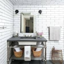 white subway tile white subway tile marble and cabinets white