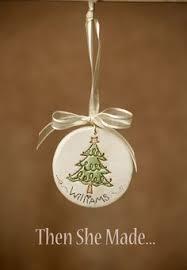 set of 5 tree ornaments primitive by dancingmooney