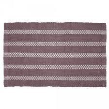 tapis de cuisine violet tapis déco chenille violet et blanc tapis déco salon chambre