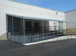 Awnings Baltimore Ramp Awning For Manufacturing Plant In Baltimore A Hoffman