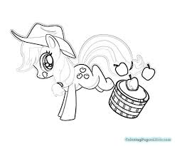 my little pony applejack coloring pages coloring pages for kids