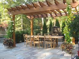 pergola with trellis garden arbors u0026 pergolas designs by sisson landscapes